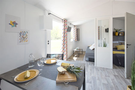 location petit mobil-home finistere