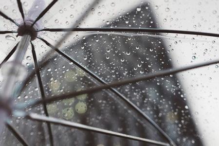 Brest sous la pluie