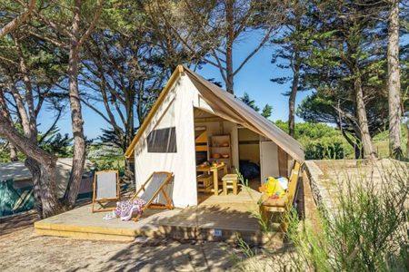 vacances tente lodge Brest